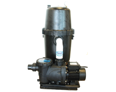 Aquapro DE cartridge filter system for above ground swimming pools